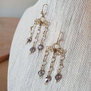 Artisan Flirty Chandelier Earrings